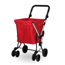 CARRO DE LA COMPRA WE GO ROJO PLAYMARKET