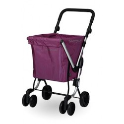 CARRO DE LA COMPRA WE GO MORADO PLAYMARKET