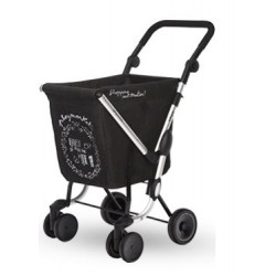 CARRO DE LA COMPRA WE GO SACO NEGRO PLAYMARKET